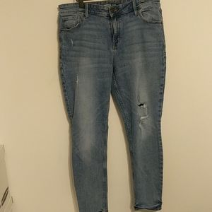 Old Navy Rockstar Distressed Jeans - 16
